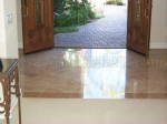 Marble floors Escondido cleaning polishing and seal.