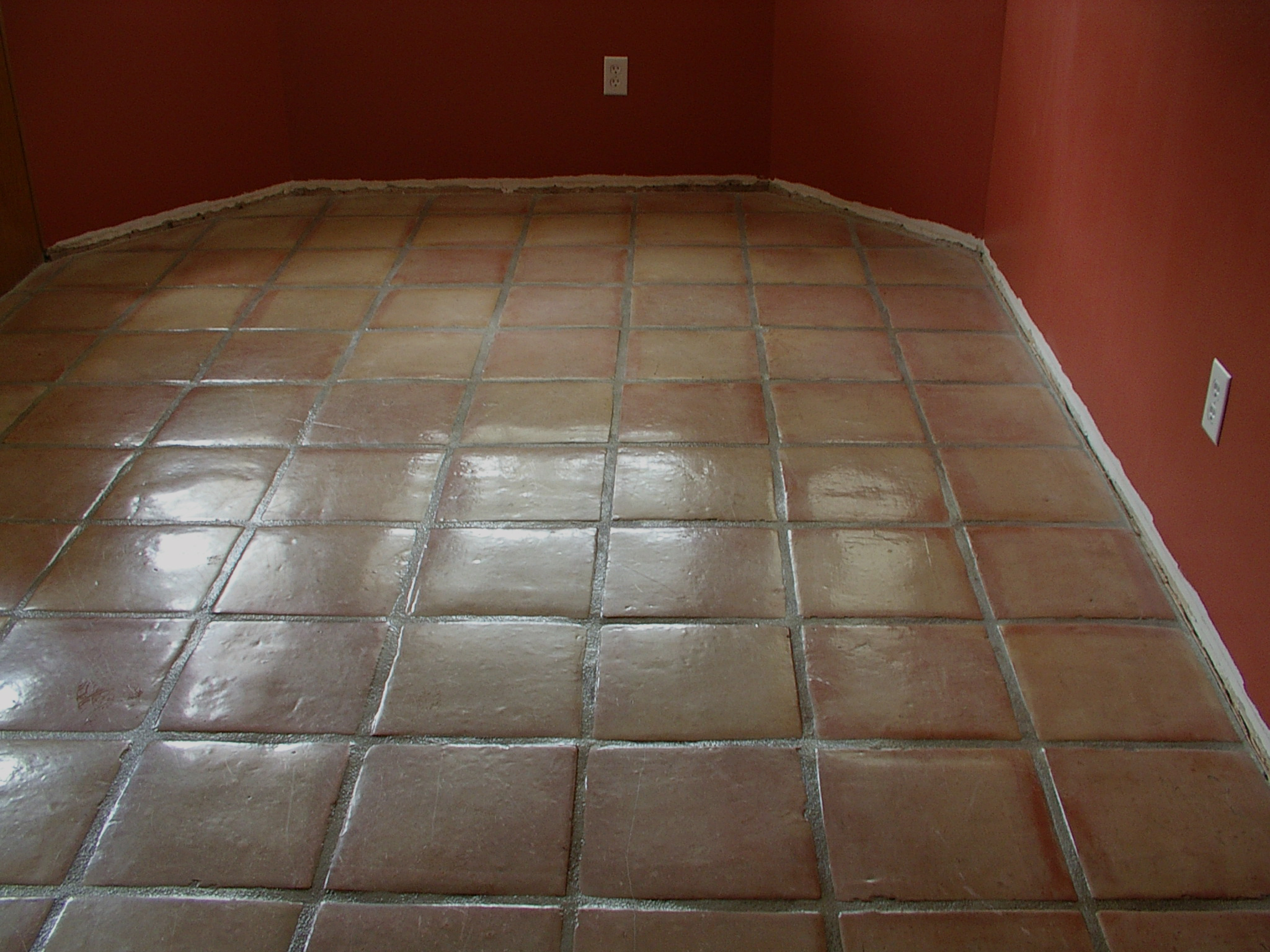 Saltillo tile stain stain removalcalifornia tile sealers whitewashed stained mexican saltillo paver tiles dailygadgetfo Image collections