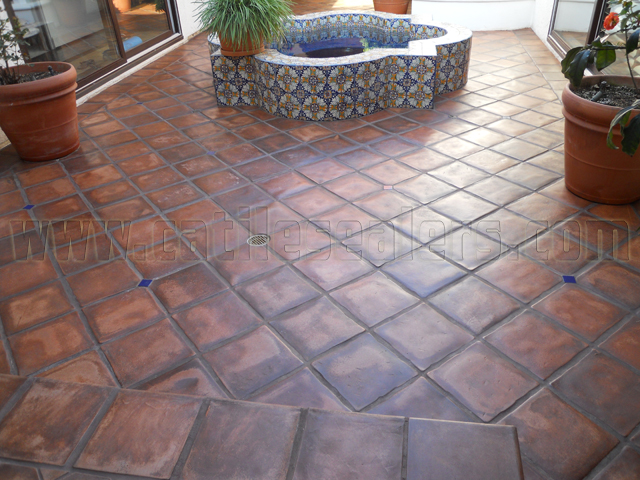Terracotta Tile Mexican Paverscalifornia Tile Sealers